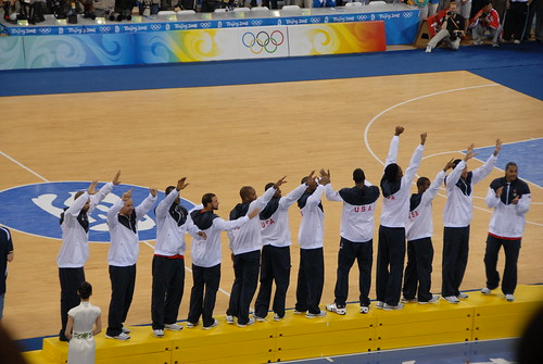 Team USA Basketball - Olympic Gold - flickr/dchurbuck
