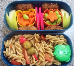 Pesto Pasta Salad Bento (recipe included) (by I Love Egg)