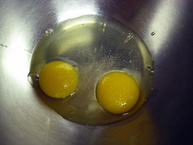 Eggs and salt