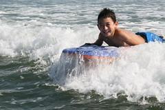 Adam boogie boarding
