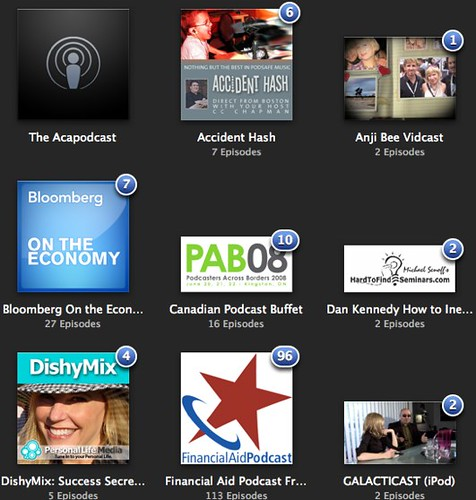 iTunes 8 for Podcasters