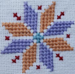 cross-stitch star