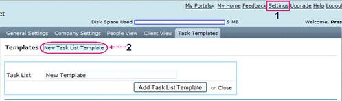 team task list template