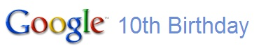 Google 10th Birthday Logo