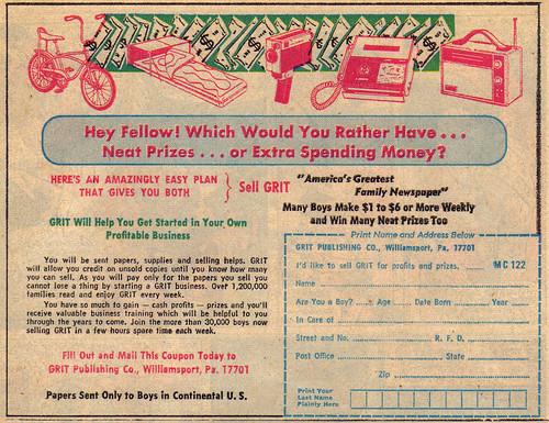 Vintage Ad #618: Grit '73