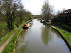 grand union canal, milton keynes (insert_user_name) Tags: bridge marina canal miltonkeynes peartree grandunion mk6