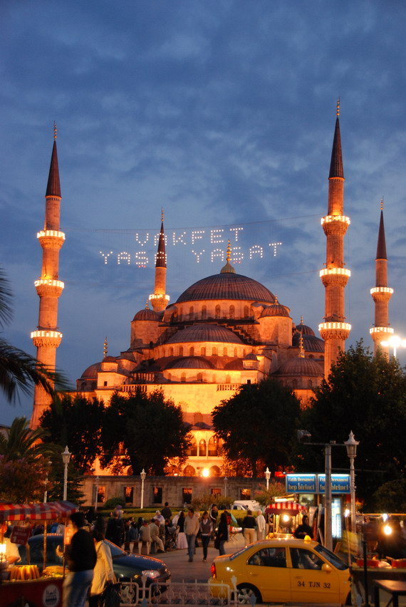 Istanbul-藍色清真寺