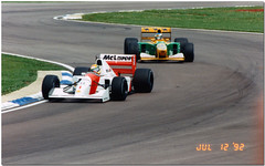 Ayrton Senna Mclaren Honda MP4/7A leads Michael Schumacher Benetton B192 Ford 1992 British GP Silverstone (Antsphoto) Tags: uk classic ford car speed honda michael williams lotus kodak britain champion f1 historic grandprix silverstone mclaren formulaone british 1992 motorsports formula1 senna schumacher motorracing 1990s gp michaelschumacher leads motorsport racingcar autosport ayrton benetton worldchampion ayrtonsenna carracing racingdriver toleman f1car formulaonecar britishgp canoneos600 gpcar benettonf1 f1worldchampionship b192 antsphoto mp47a fiaformulaoneworldchampionship anthonyfosh canoneos60035mm