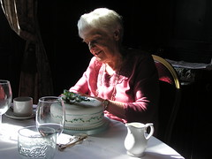 "The ""arty"" cake view (porcracer) Tags: joyce 80 aunty"