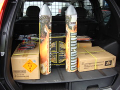 Brothers Choice Barrage Pack in the middle (EpicFireworks) Tags: fireworks guyfawkes firework pyro 13g epic pyrotechnics ignition singleignition