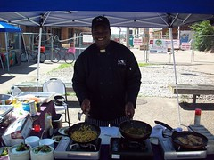 Cooking demonstration with Chef Euylan (Old North St. Louis) Tags: city farmers market north