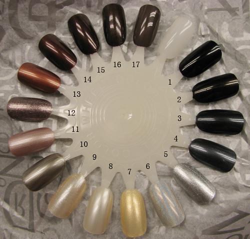 nail wheel: metal black brown by you.