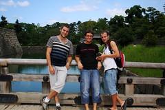 Amonra, Sunxez & Xavi al pont