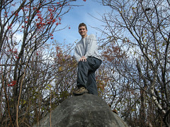 Me at the highest point on top of Ishpatina Ridge