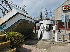 Boat Parking or Impromptu Dry Dock? () Tags: ocean park city sea storm galveston strange weather strand sailboat port booth mexico island bay harbor pier boat town fishing dock downtown industrial waves ship texas gulf natural 21 district no g destruction tx awesome side parking hurricane lot houston wave dry shrimp vessel wrong pay commercial disaster toll stunning damage tropical sail parked meter unusual willie nautical ike impromptu galvestonisland surge destroyed cyclone harborside stormsurge landry trashed shrimpboat hourly metered validate landrys validated fertitta