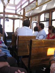 El tranvía de Saltillo.