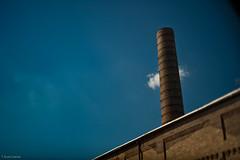 Downtown Power Plant (T. Scott Carlisle) Tags: birmingham polarizer 45mm tsc bhm tiltshift skyarchitecture tphotographic 45mm28pce tphotographiccom tscarlisle tscottcarlisle