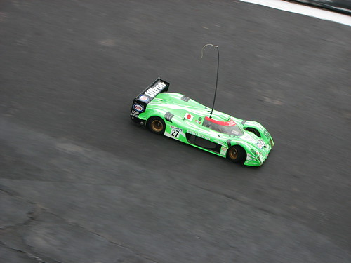 Toyota Gt-One fazendo a curva