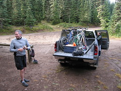 081018_001a-Jeff and V\'s pickup at Corral Pass (Snoquera, Washington, United States) Photo
