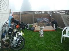Camping en el jardin de Ted, Quesnel