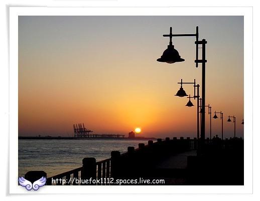 081018秀朗橋-漁人碼頭80km小摺之旅22_日落海平面