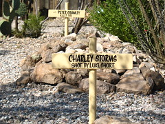 Charley Storms Grave