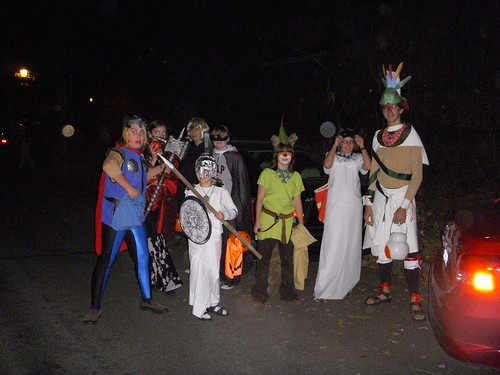 Trick-or-Treating Party
