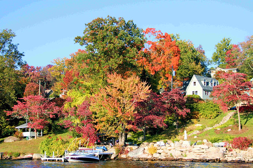 Fall On Candlewood Lake 6 by lemoncat1.