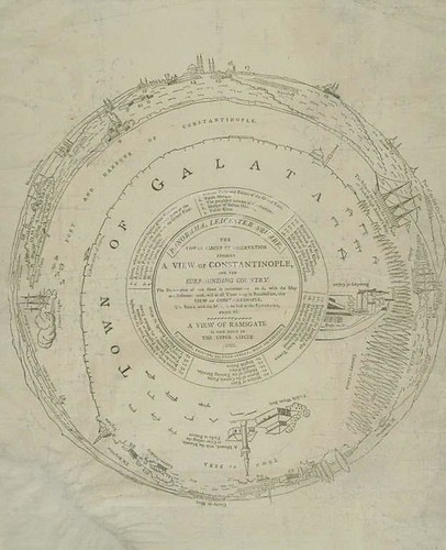 Key to the panorama of Constantinople and the surrounding country 1801