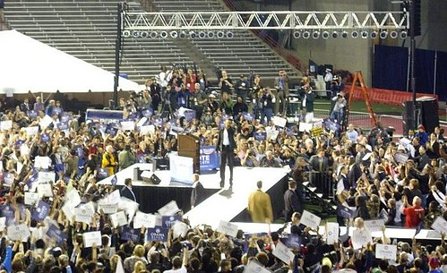 Obama Rally at University of Cincinnati