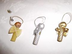 anjos de massa (o que tenho c dentro) Tags: natal reciclagem anjos