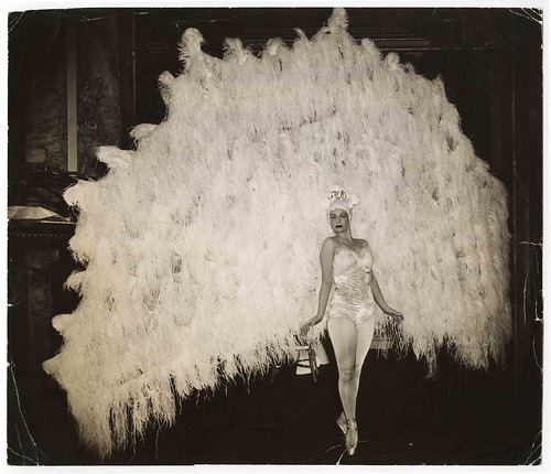Ballerina Marina Franca in her peacock costume, April 18, 1941 by disappartenenza.