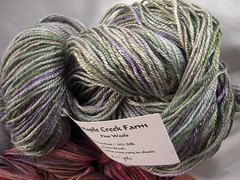 Maple Creek Yarn: Bamboo-Silk blend