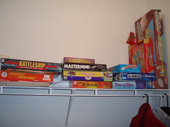 Lots of games and toys for kids (bhieggelke) Tags: snow mounthood governmentcamp collinslakechalet