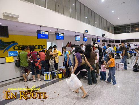 Iloilo Airport Check-in Counters