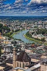 Salzburgo. Vista desde la fortaleza (Angel Villalba) Tags: salzburg austrian salzburgo