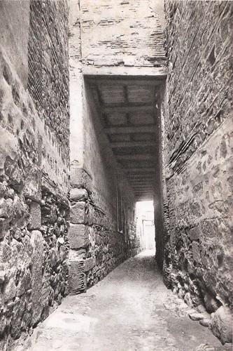 Cobertizo de Santo Domingo el Real (Toledo) a principios del siglo XX. Foto Aldus