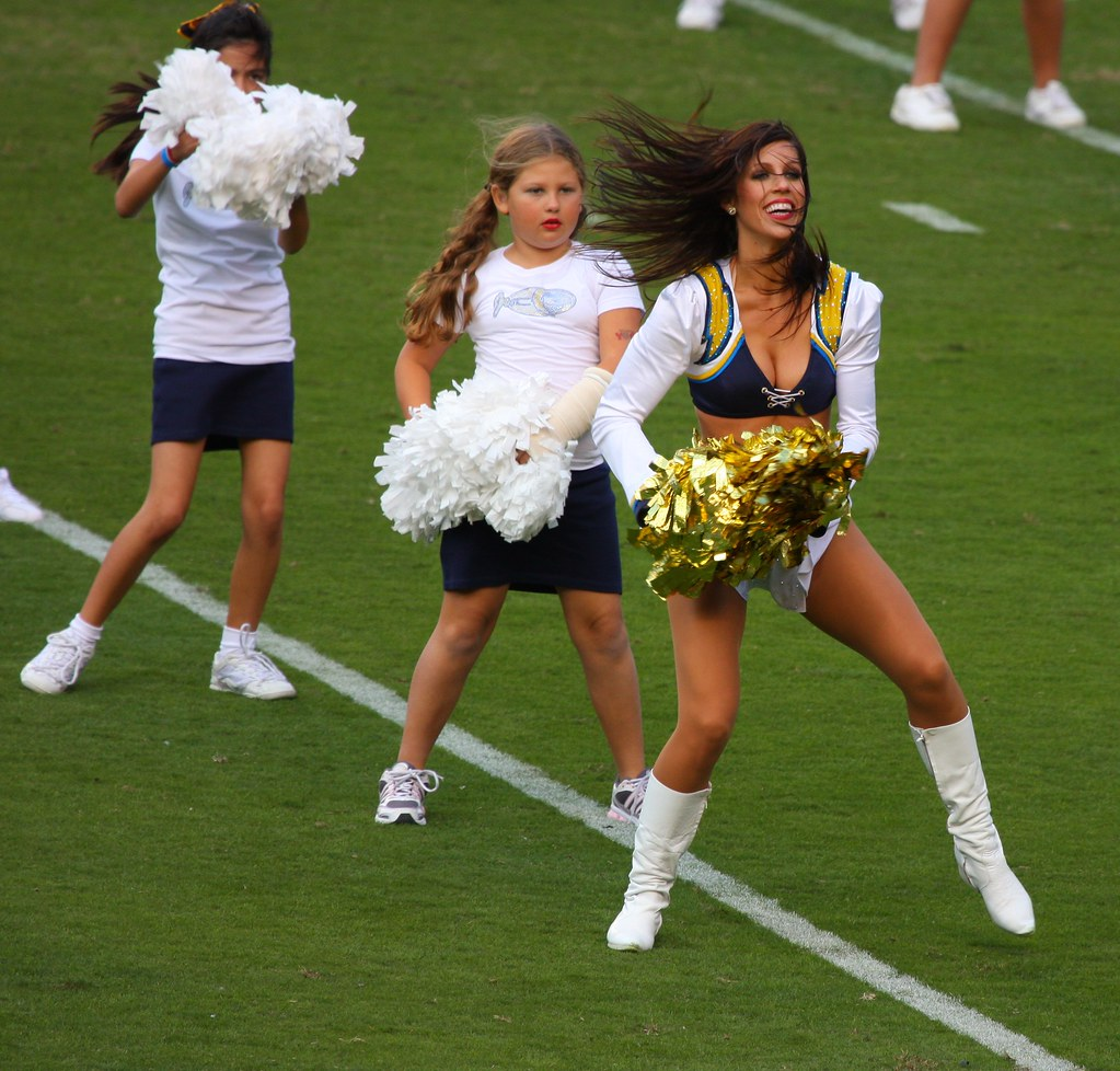San Diego Chargers Cheerleader: The World's Newest Photos Of Brunettegirls