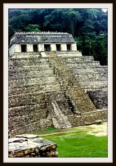Temple of Inscriptions in Palenque Mexico and burial place of King Pacal Votan (Molly258) Tags: mexico temple place palenque burial inscriptions pacal votan worldicon anticando