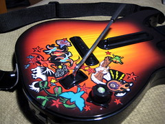 Guitar Hero World Tour Guitar Art - 178/365