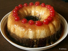 Flan Cake (JoelDeluxe) Tags: newmexico cake dessert milk yummy cherries chocolate sugar caramel eggs vanilla flan custard nm joeldeluxe leche moist moistest lindooflan dulcesydeliciosas 다정하고맛있는푸딩 甜可口的果酱饼