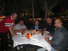 Mark, Carlos, Nard, Hans, Shahram