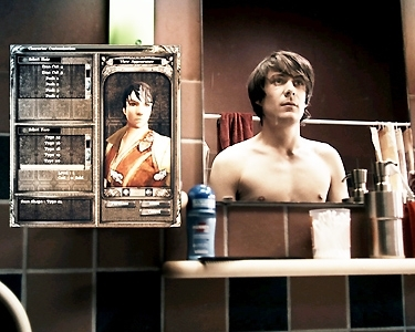 ben x - movie still - mirror with avatar badge