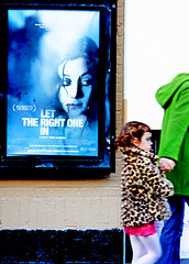 Let The Right One in (kirstiecat) Tags: chicago cinema film girl movie poster theater noir vampire landmark swedish creepy horror lakeview filmnoir landmarkcentury lettherightonein ltdenrttekommain thanksrobertfortellingmeaboutthisone cinchelhatedit