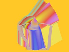 Abstract thing (ciokkolata_is_ashamed_of_silvio_burlesquoni) Tags: wallpaper abstract color colour sexy colors 3d crazy colours colore abstractart computergenerated digitalart multicoloured pi
