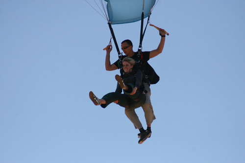 Skydiving 23/11/2008