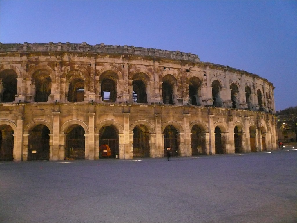 Nimes Roman amphitheater