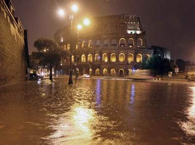 Colloseum flooded
