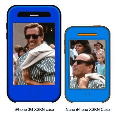 comparación iPhone Nano con iPhone