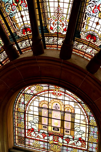 QVB's stained glass window by you.